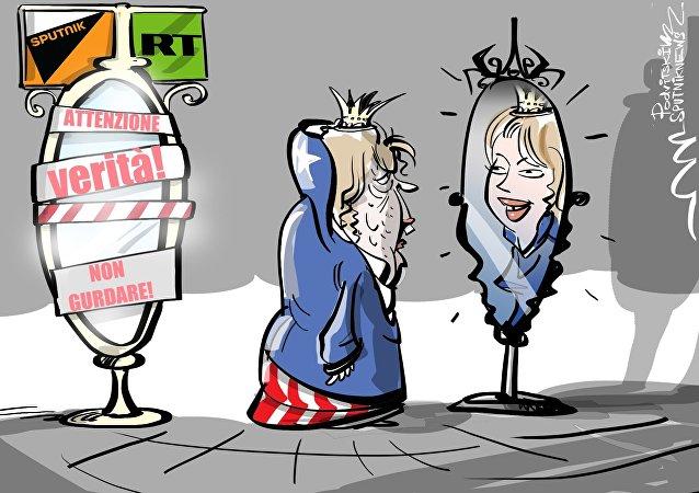 In USA accusano media russi perché dicono la verità