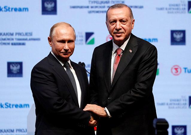 Erdogan e Putin, il 19 novembre 2018