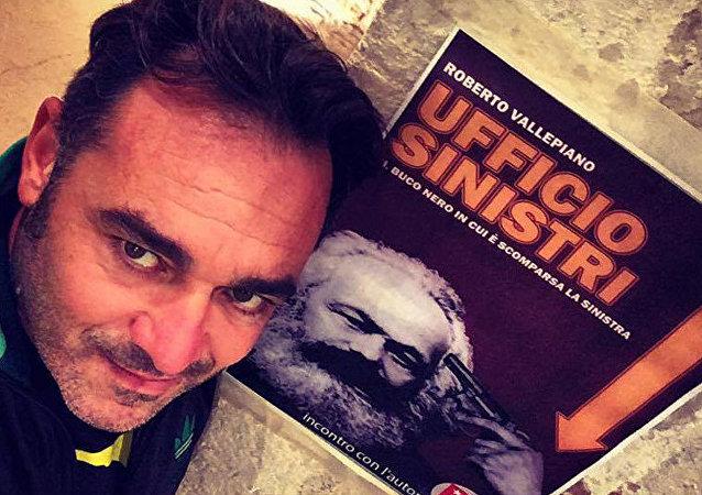 Roberto Vallepiano autore di 'Ufficio Sinistri: il buco nero in cui è scomparsa la sinistra'