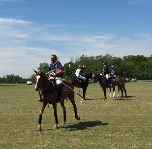 Partita di polo in Argentina
