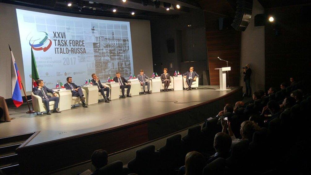 La Task Force italo-russa del 2017 ospitata da Ekaterinburg. L'anno prossimo la Task Force tornerà in Russia, a Kaliningrad