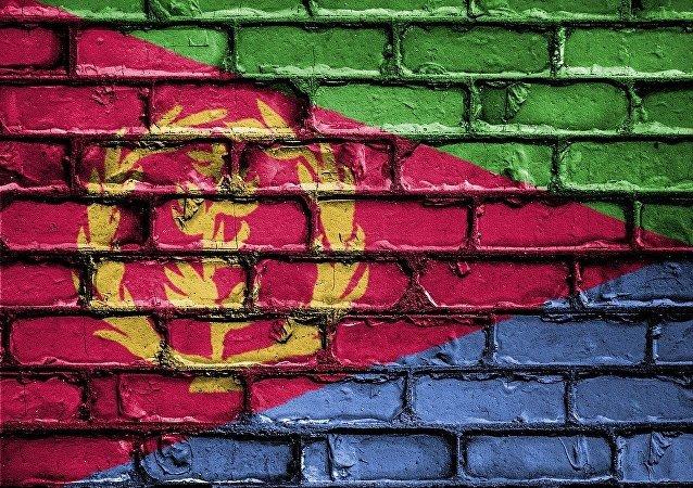 La bandiera dell'Eritrea