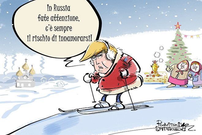 In Russia fate attenzione, c'è sempre il rischio di innamorarsi!