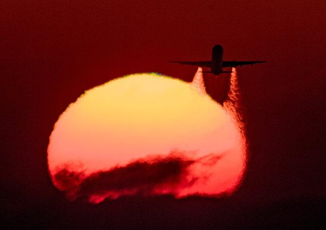 Un Boeing Aeroflot in volo