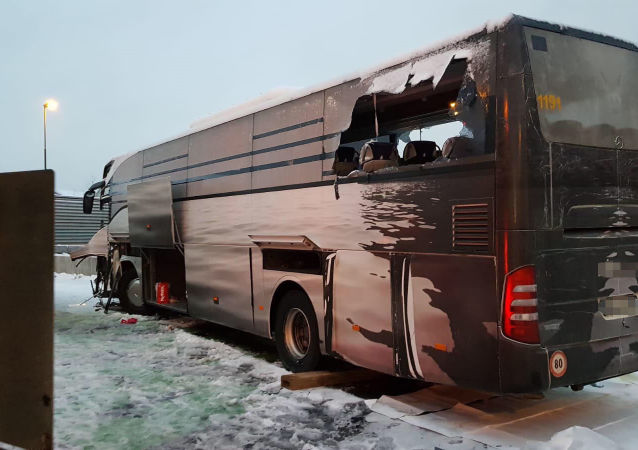 Svizzera: incidente con autobus