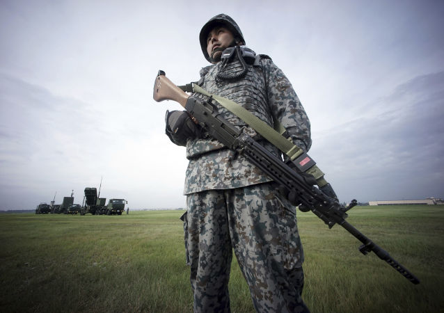 Un militare giapponese