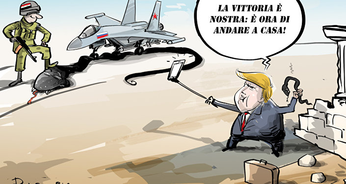 Trump ha ordinato di ritirare le truppe USA dalla Siria