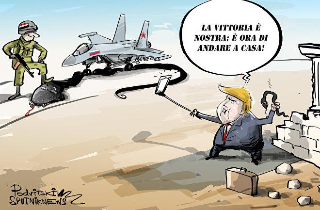 Trump ha ordinato di ritirare le truppe USA dalla Siria