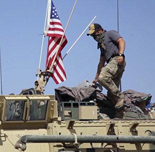 Mezzi militari USA in Siria