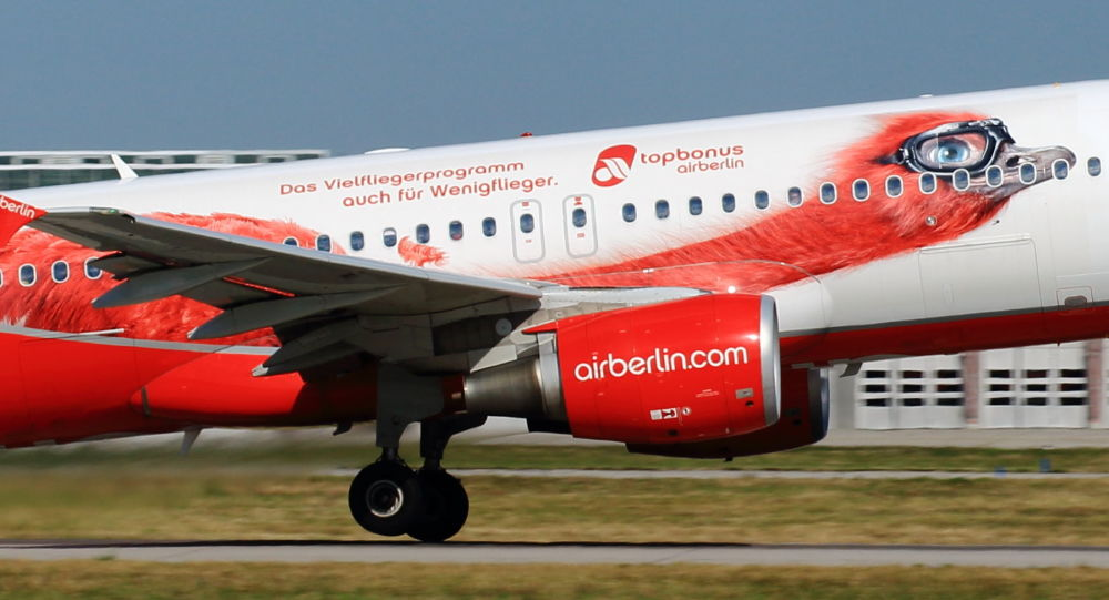 Aereo della compania Air Berlin