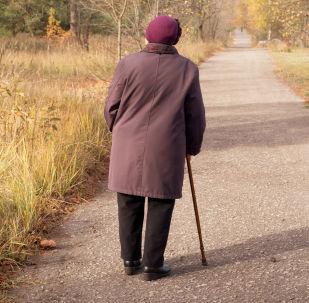 Un'anziana