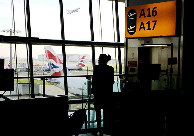 Aeroporto Heathrow di Londra (foto d'archivio)