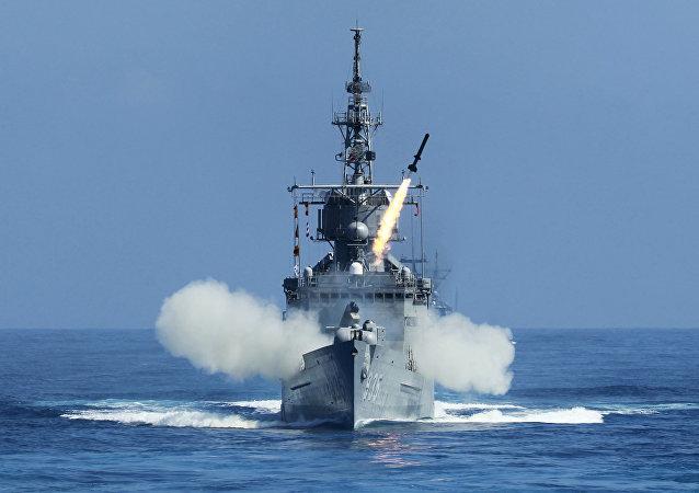 Nave della Marina militare di Taiwan (foto d'archivio)