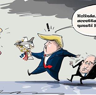Trump romanticone