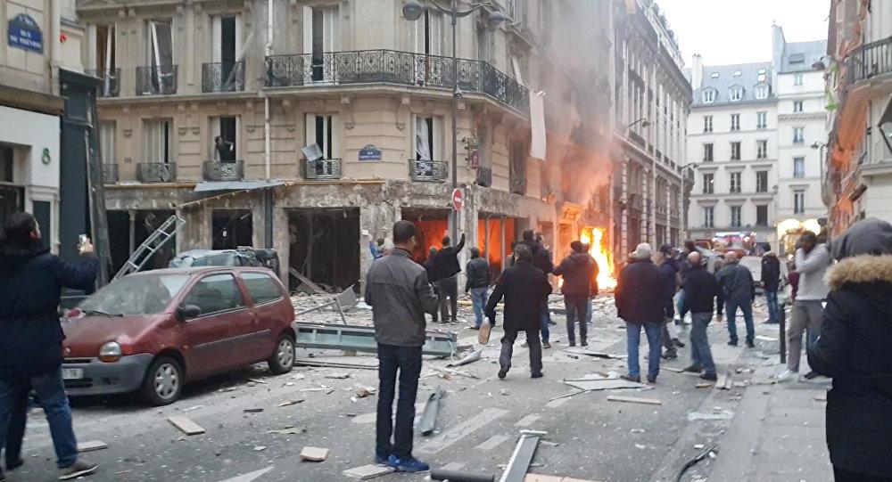 Esplosione a Parigi
