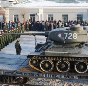 Bentornati a casa T-34
