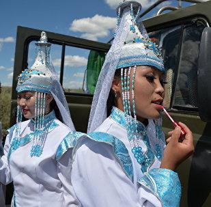 Festival delle danze folkloristiche di Tuva