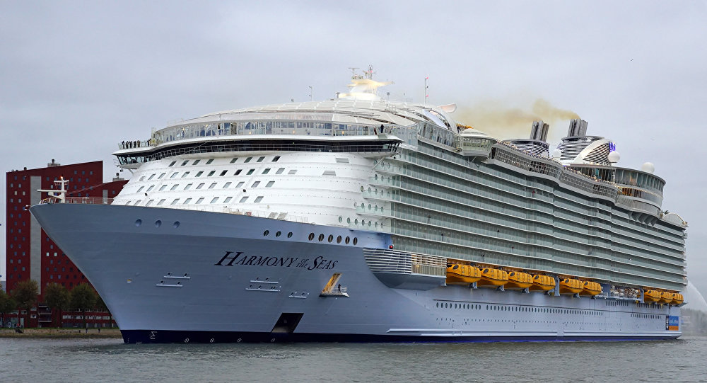 Harmony of the Seas costruita nei cantieri Atlantique