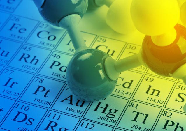 La tavola periodica degli elementi di Mendeleev