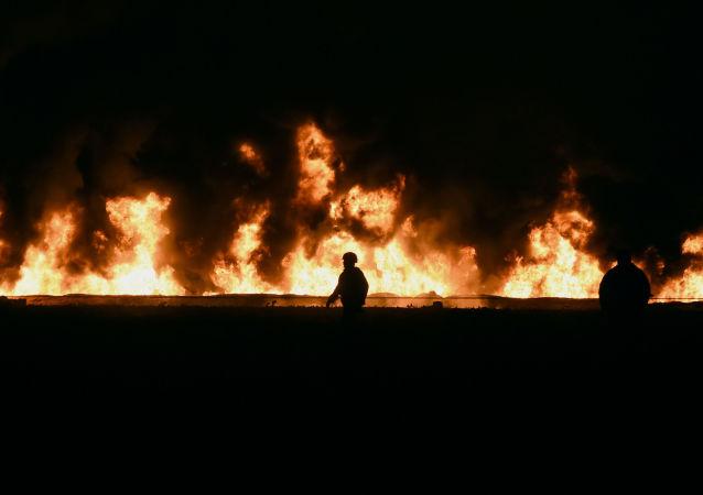 Esplosione in Messico
