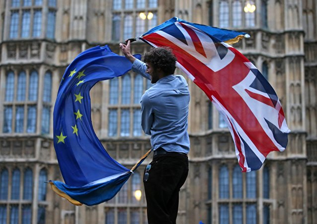 Bandiere UE Regno Unito