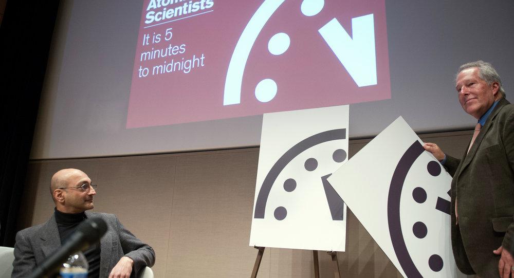 L'orologio dell'Apocalisse del Bullettin of the Atomic Scientists
