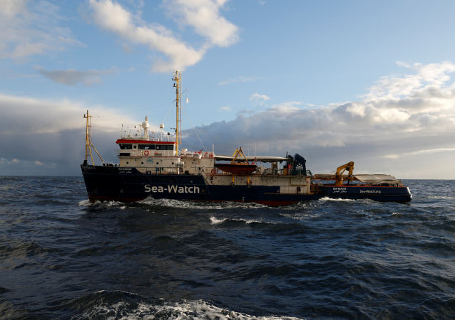 La nave Sea-Watch 3