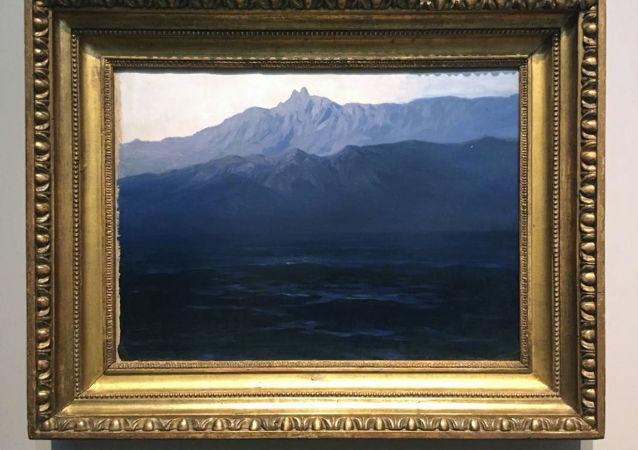 Il quadro del pittore Arkhip Kuindzhi rubato alla Galleria Tretyakov di Mosca