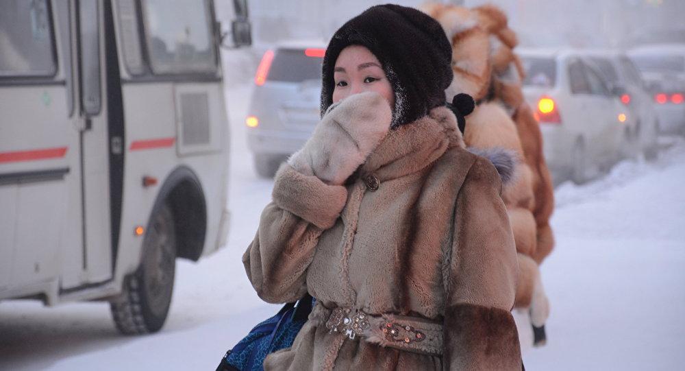 Inverno a Jakutsk - Jacuzia