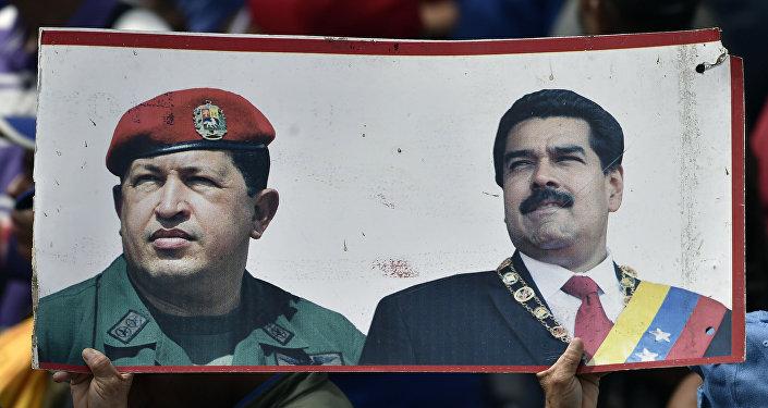 Manifestazione a Caracas filo-governativa