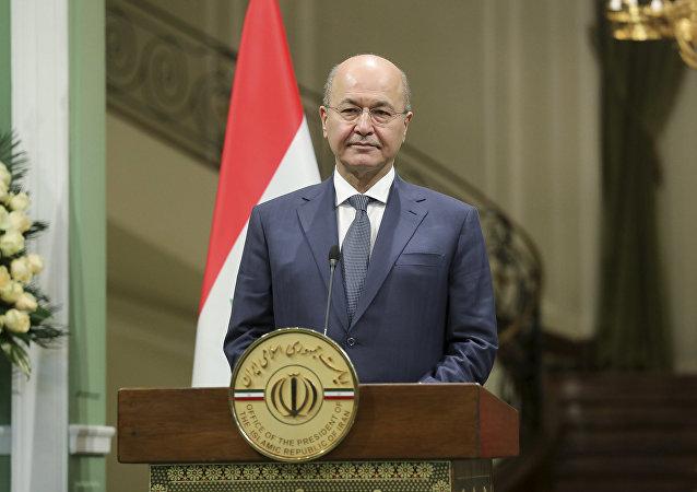 Presidente iracheno Barham Salih