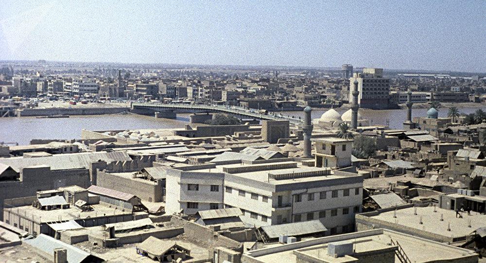 La veduta di Baghdad, la capitale dell'Iraq. (Foto d'archivio)