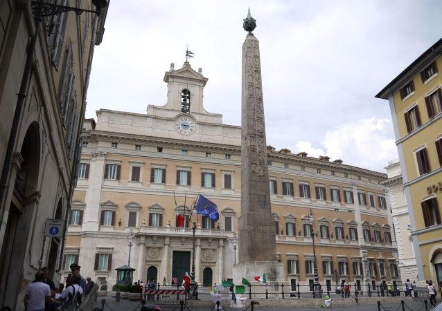 Il Palazzo Montecitorio