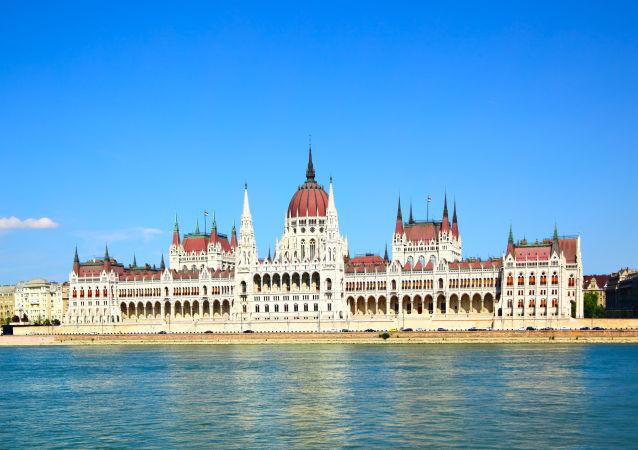 Il parlamento dell'Ungheria, Budapest