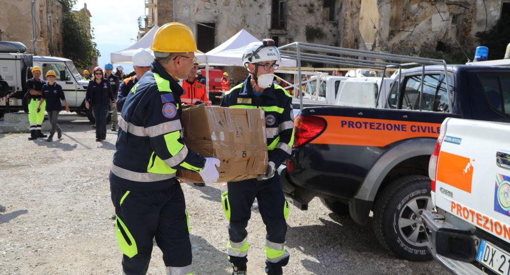 La protezione civile in Italia