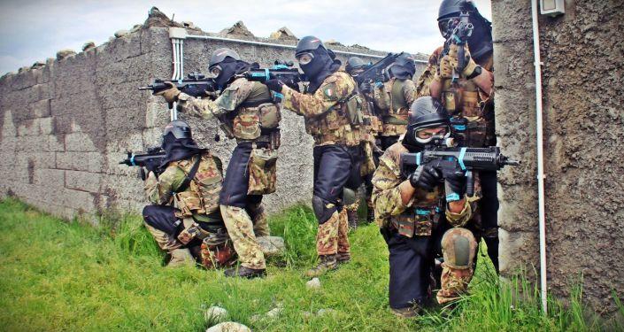 Le esercitazioni dell'Esercito italiano