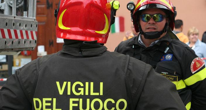 I Vigili del Fuoco italiani
