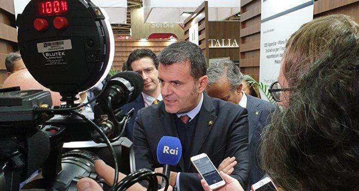 Ministro Centinaio a Mosca