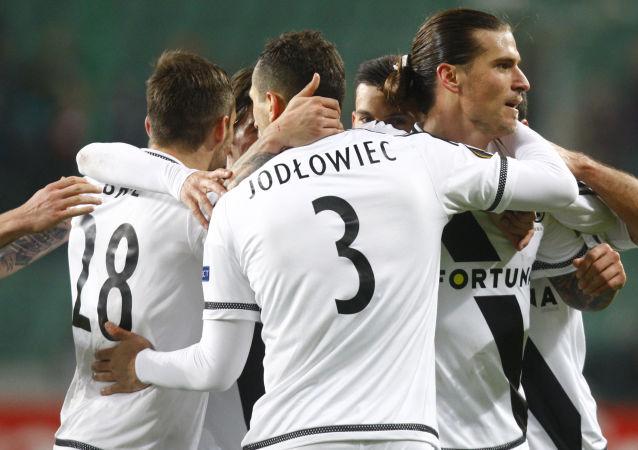 Giocatori del Legia Varsavia