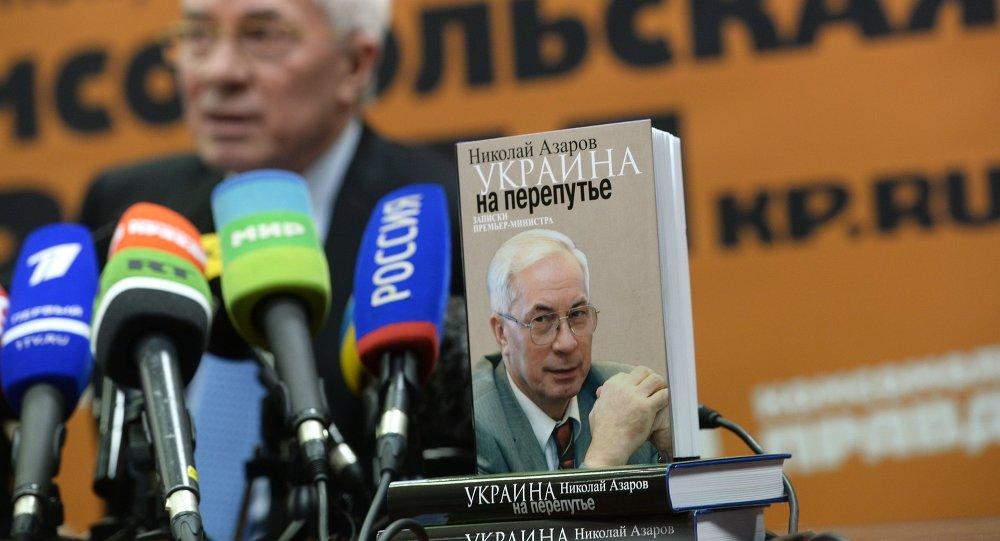 Ex premier ucraino Mykola Azarov