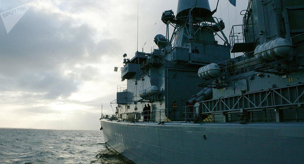 Le navi da guerra della NATO