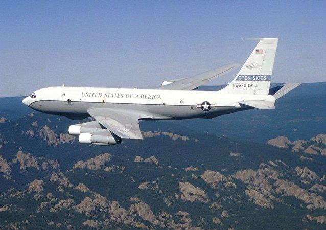 """Aereo di ricognizione USA """"OC-135B"""""""