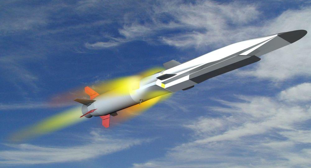Modello del missile ipersonico russo Tsirkon