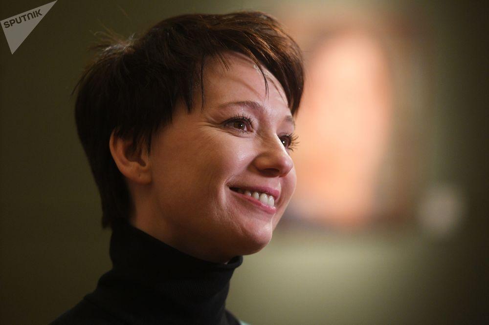 L'attrice russa Chulpan Hamatova.