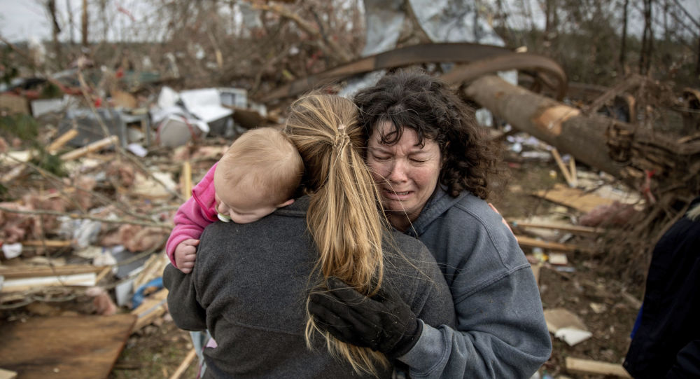 Usa, maltempo al Sud: almeno otto vittime
