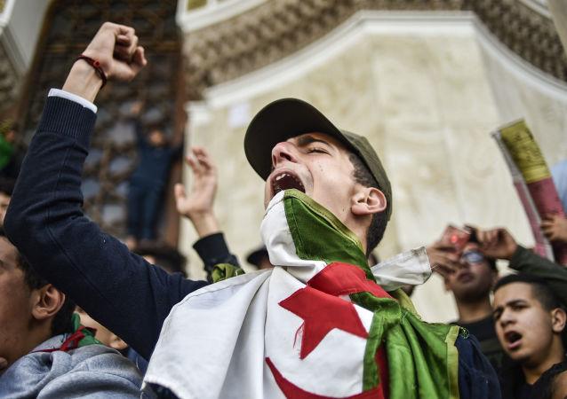 Le manifestazioni contro Bouteflika