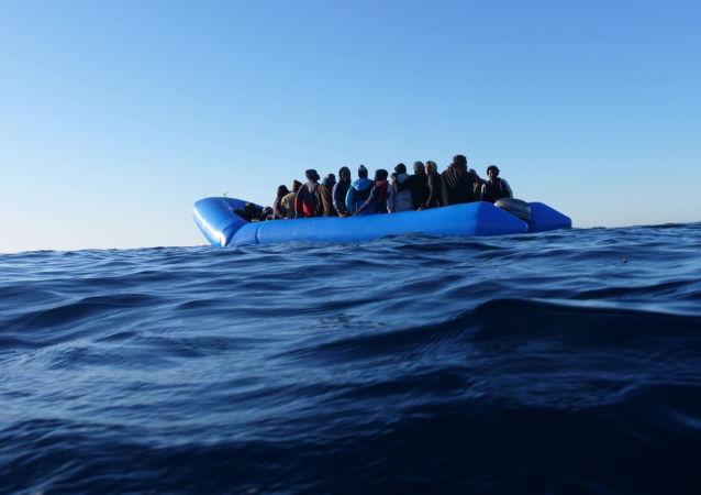 Migranti dalla Mare Jonio (foto d'archivio)