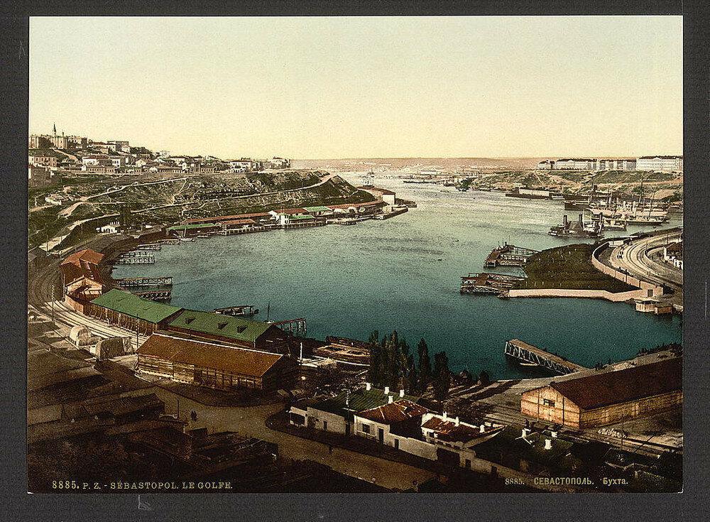 Veduta di Sebastopoli nel 1885
