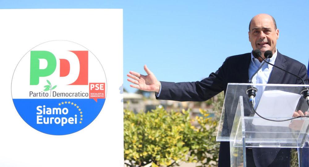 Il segretario del Pd Nicola Zingaretti