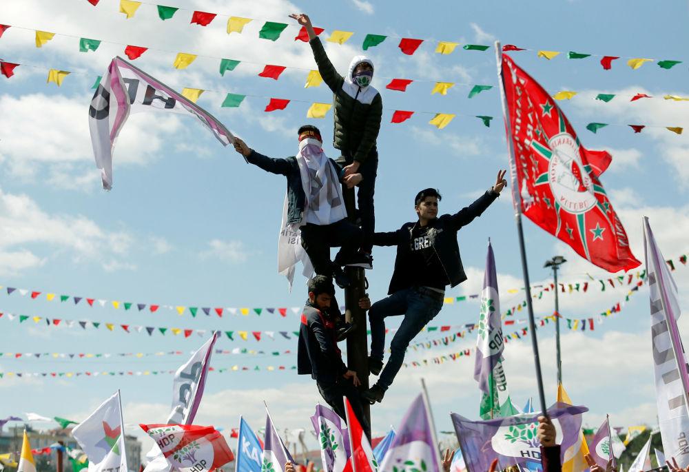 La celebrazione di Novruz ad Istanbul.
